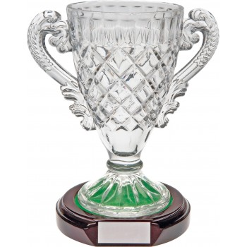 Crystal Trophy - 18cm High (Euro 23.00)