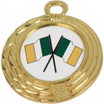 Economy Medallion ~ 40mm - Available In Gold, Silver and Bronze ~ (Euro 1.10)
