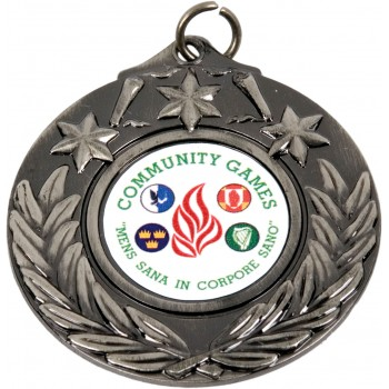 Superior Polished Medallion ~ 50mm - Avail. In Gold, Silver,  Antique Gold, Antique Silver and Antique Bronze ~ (Euro 1.35)