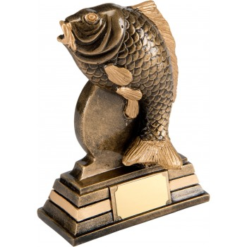 Solid Resin Quality Sea Bass Trophy ~ 16cm High (Euro 12.50)