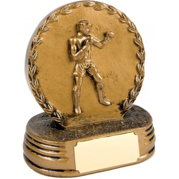 Solid Resin Boxing Plaque ~ 12.5cm High (Euro 11.20)