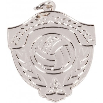 Gaelic Football - Mono-Tone Medallion ~ 35mm - Available In Gold and Silver ~ (Euro 4.00)