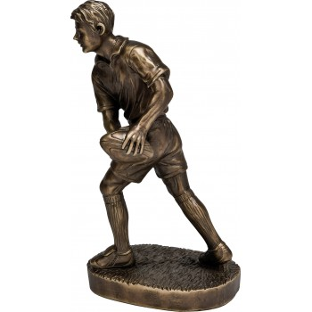 Premium Quality Rugby Player ~ 25.5cm High (Euro 36.00)