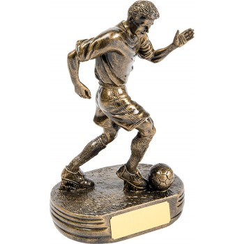 High Quality Male Footballer ~ 25cm High (Euro 27.50)