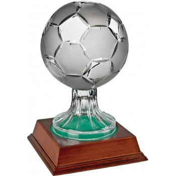 Crystal Soccer Ball - Avail. in 3 Sizes: 23cm (Euro 75.00), 28cm (Euro 105.00) and 35cm (Euro 148.00)