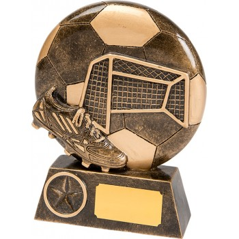 Solid Resin Goal Plaque - Avail. in 2 Sizes: 13cm (Euro 6.90) and 15cm (Euro 9.40)