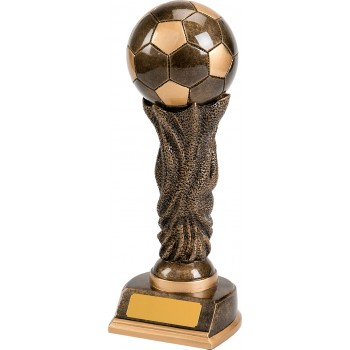 Solid Resin World Cup Style Trophy – Available in 2 sizes: 25cm (Euro 22.90) and 30cm (Euro 30.10)