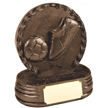 Solid Resin Soccer Plaque ~ 12.5cm High (Euro 11.20)